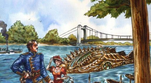 Affiche du 32e festival Bulles en Loire