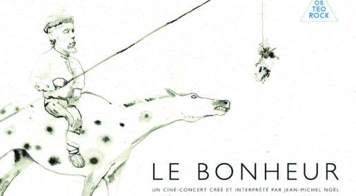 """Affiche du ciné-concert """"Le bonheur"""""""