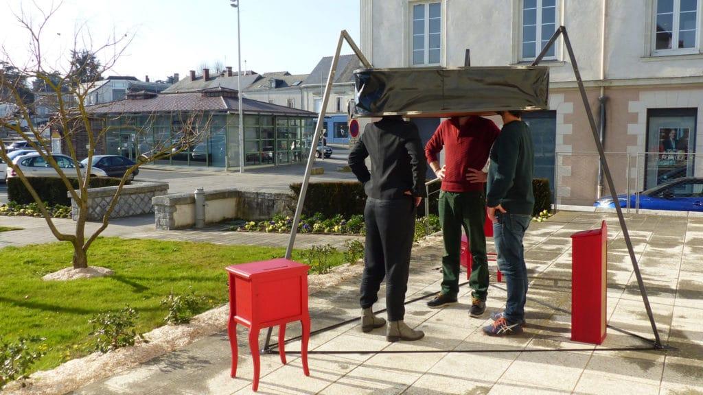 La compagnie Dérézo à Chalonnes-sur-Loire