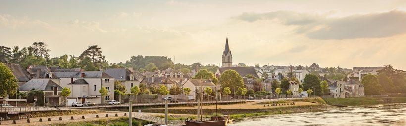 Les quais de Chalonnes-sur-Loire